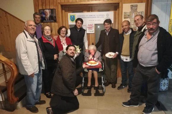 LA ARENENSE LUCÍA MARTÍN RUÍZ CUMPLE 100 AÑOS