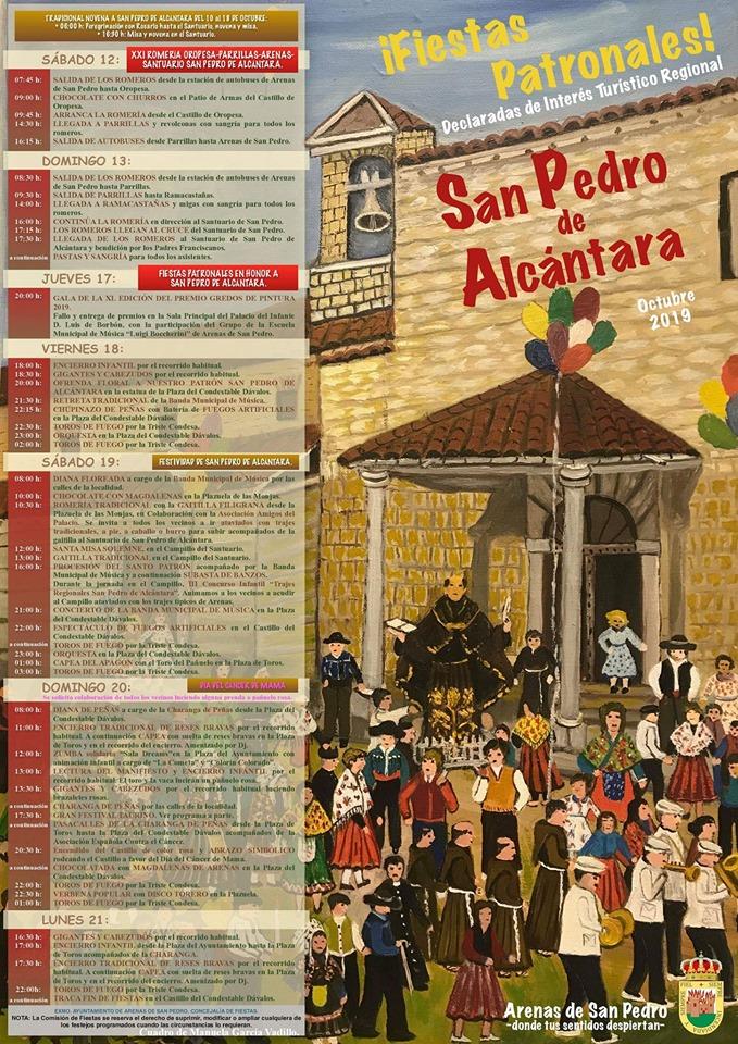 Fiestas en honor a San Pedro de Alcántara