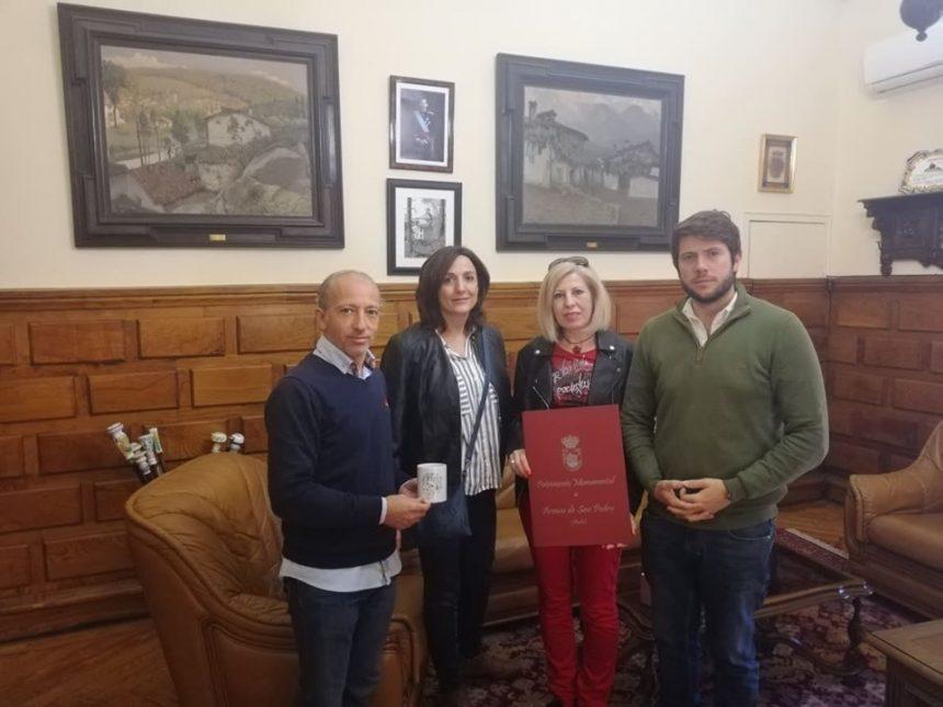 LOS ALUMNOS DEL CEIP FEDERICO GARCÍA LORCA DEL BARRIO DE PATROCINIO DE TALAVERA DE LA REINA HAN VISITADO NUESTRO MUNICIPIO