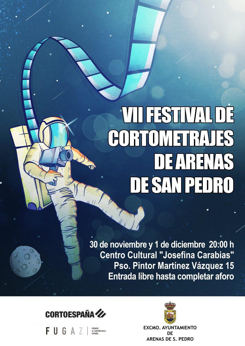 🎥VII FESTIVAL DE CORTOMETRAJES DE ARENAS DE SAN PEDRO🎬