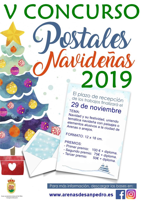 V CONCURSO DE POSTALES NAVIDEÑAS 2019