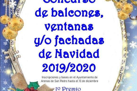 🎅🎄👑 VI CONCURSO DE BALCONES, VENTANAS Y FACHADAS DE NAVIDAD 2019/20