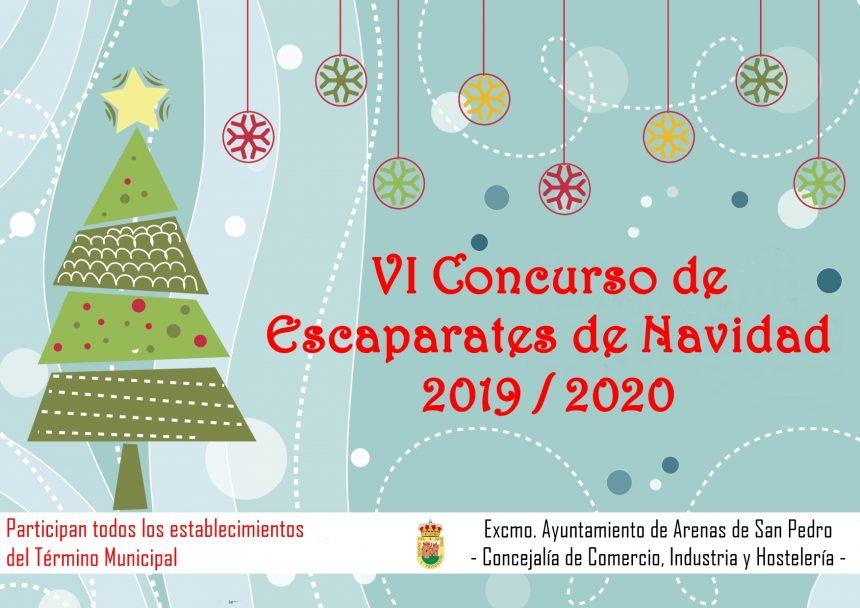 🛍🎅🎄👑 VI CONCURSO DE ESCAPARATES DE NAVIDAD 2019/20