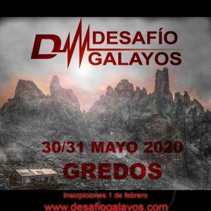 🗻 DESAFÍO GALAYOS – GREDOS 2020 🗻