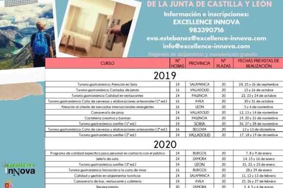 CURSOS GRATUITOS DE FORMACIÓN PERSONAL DEL SECTOR TURÍSTICO
