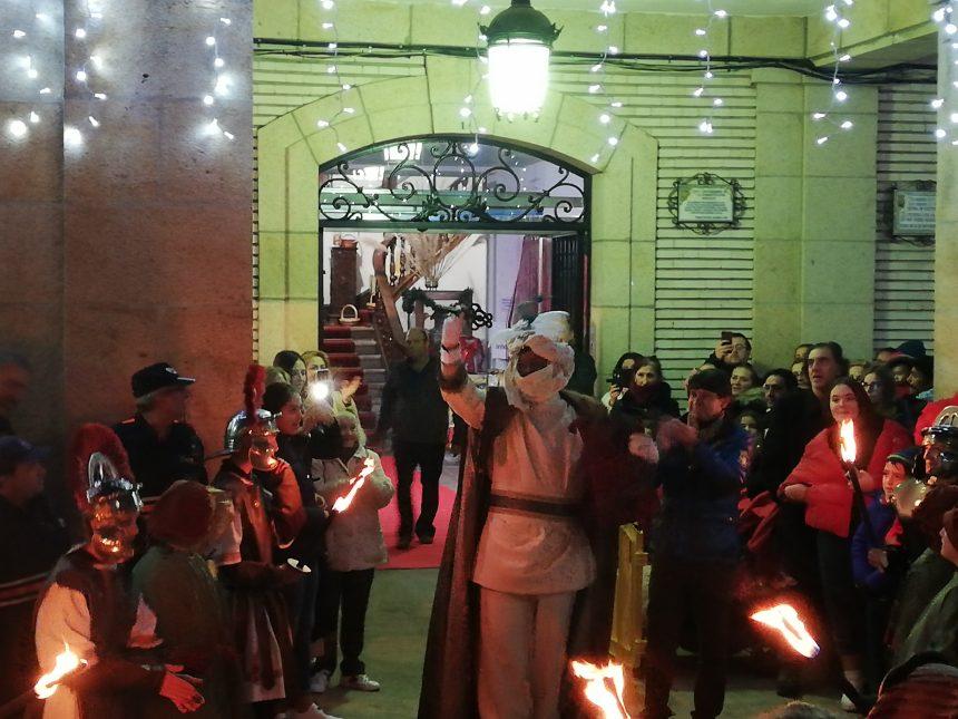 EL HERALDO REAL YA TIENE LAS LLAVES DE LA CIUDAD DE ARENAS DE SAN PEDRO PARA ENTREGÁRSELAS A SUS MAJESTADES LOS REYES MAGOS DE ORIENTE.