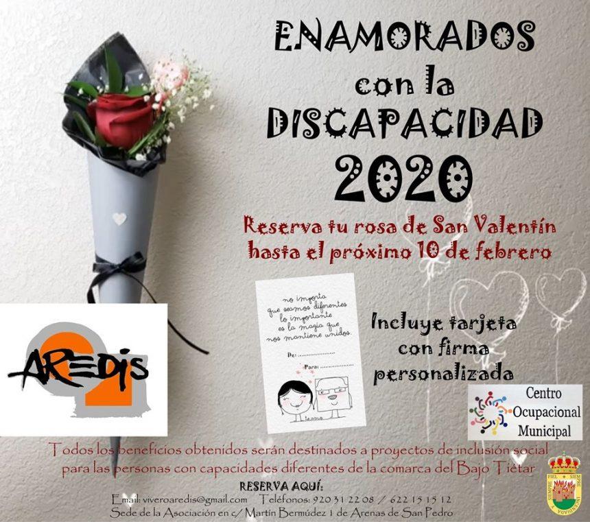 🌹❤️ CAMPAÑA POR SAN VALENTÍN «ENAMORADOS CON LA DISCAPACIDAD 2020» ❤️🌹