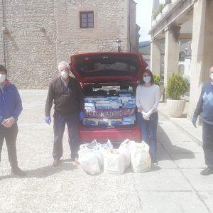 👏🏼 DONACIÓN DE PRODUCTOS DE HIGIENE DE LA PEÑA MADRIDISTA DE ARENAS DE SAN PEDRO 👏🏼