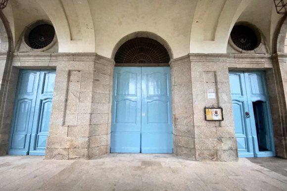 REPARACIONES EN EL PALACIO DEL INFANTE DURANTE LA CUARENTENA