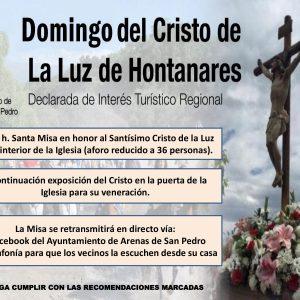 DOMINGO EN HONOR AL SANTÍSIMO CRISTO DE LA LUZ DE HONTANARES