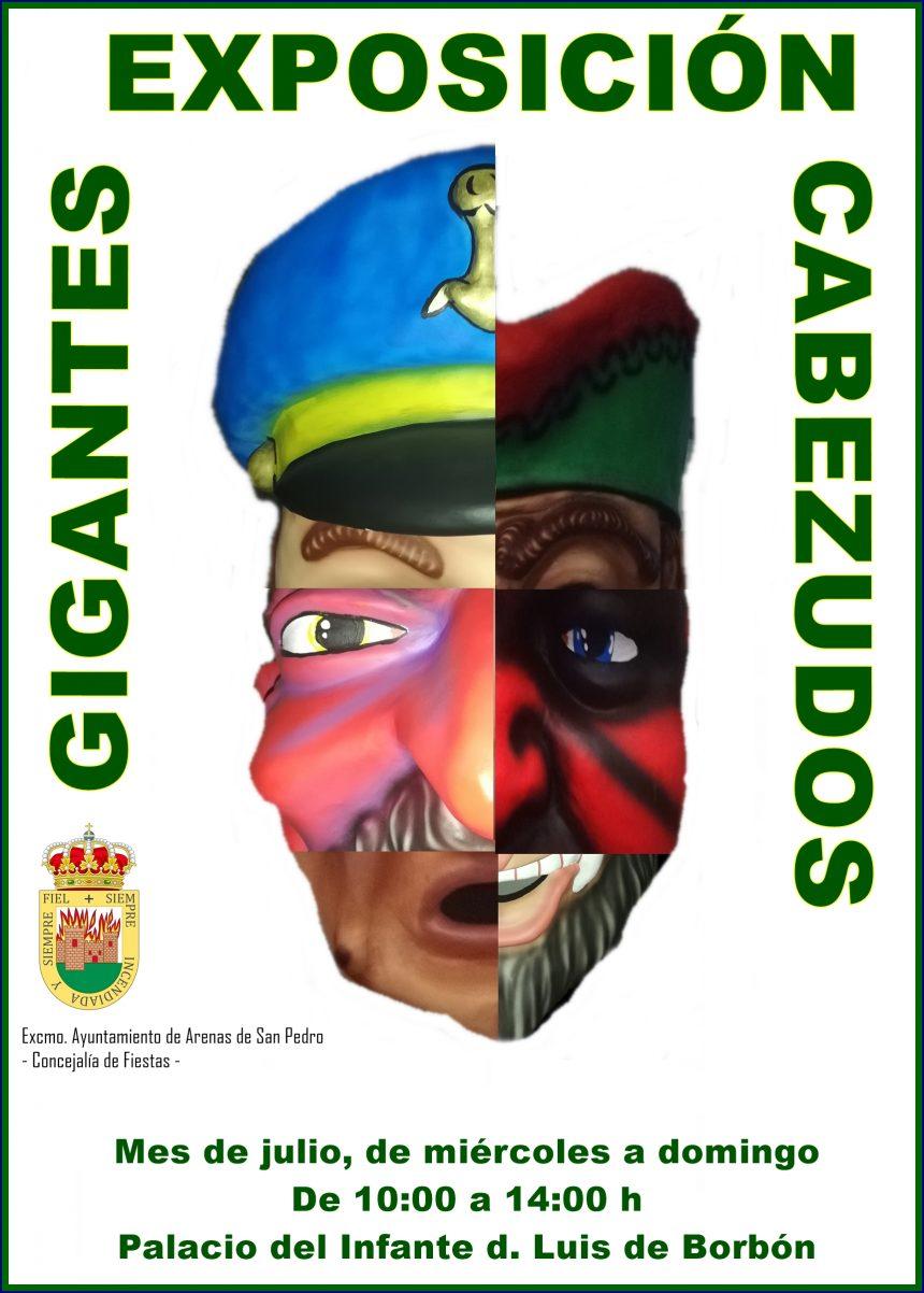 👺🤡 EXPOSICIÓN DE LOS GIGANTES Y CABEZUDOS DE ARENAS DE SAN PEDRO 🤡👺
