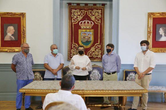 """🖼 EL ALCALDE, J. CARLOS SÁNCHEZ, INAUGURA LA 13 EDICIÓN DE MUESTRA DE ARTE CONTEMPORÁNEO """"PALACIO XIII"""" EN EL PALACIO DEL INANTE D. LUIS DE BORBÓN 🖼"""