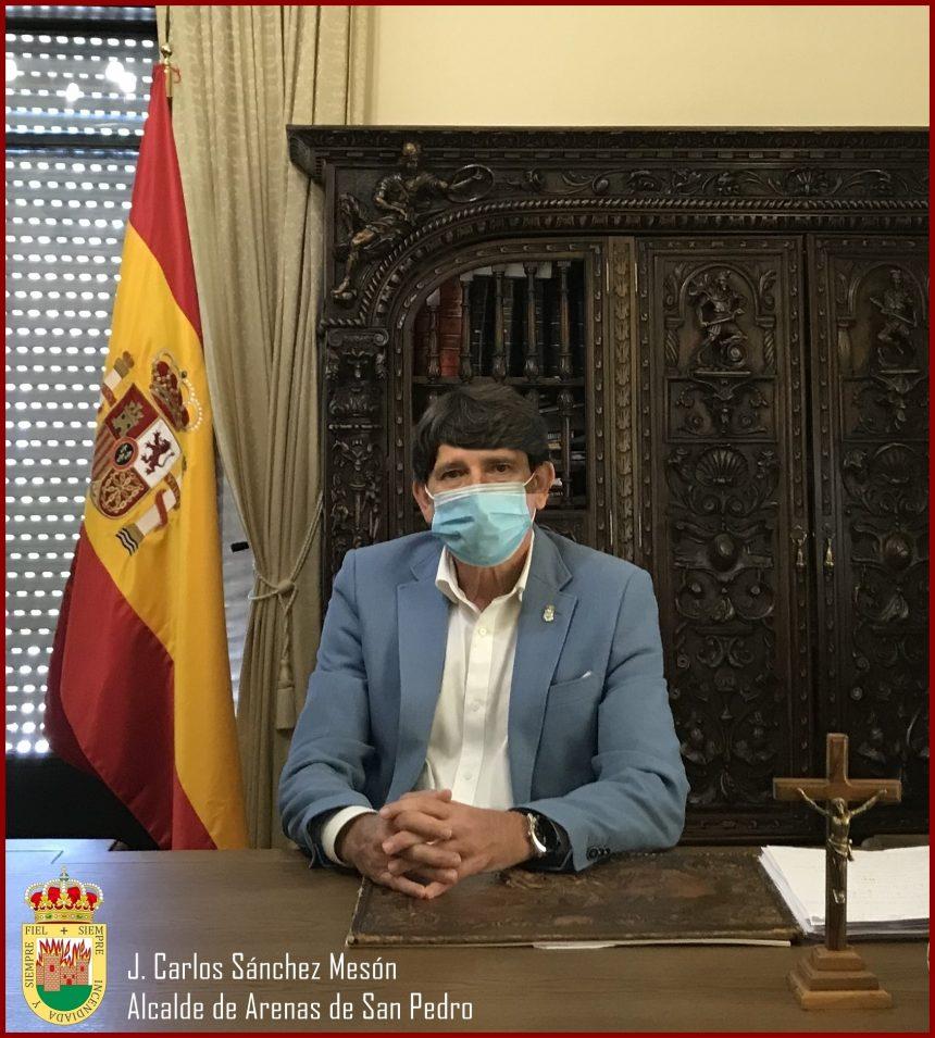 SALUDA DEL ALCALDE-PRESIDENTE DEL EXCMO. AYUNTAMIENTO DE ARENAS DE SAN PEDRO