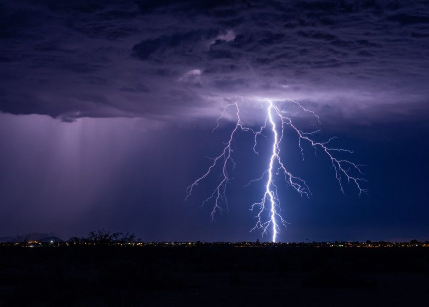 Nuestra ciudad se encuentra en riesgo por tormenta durante el día de hoy.