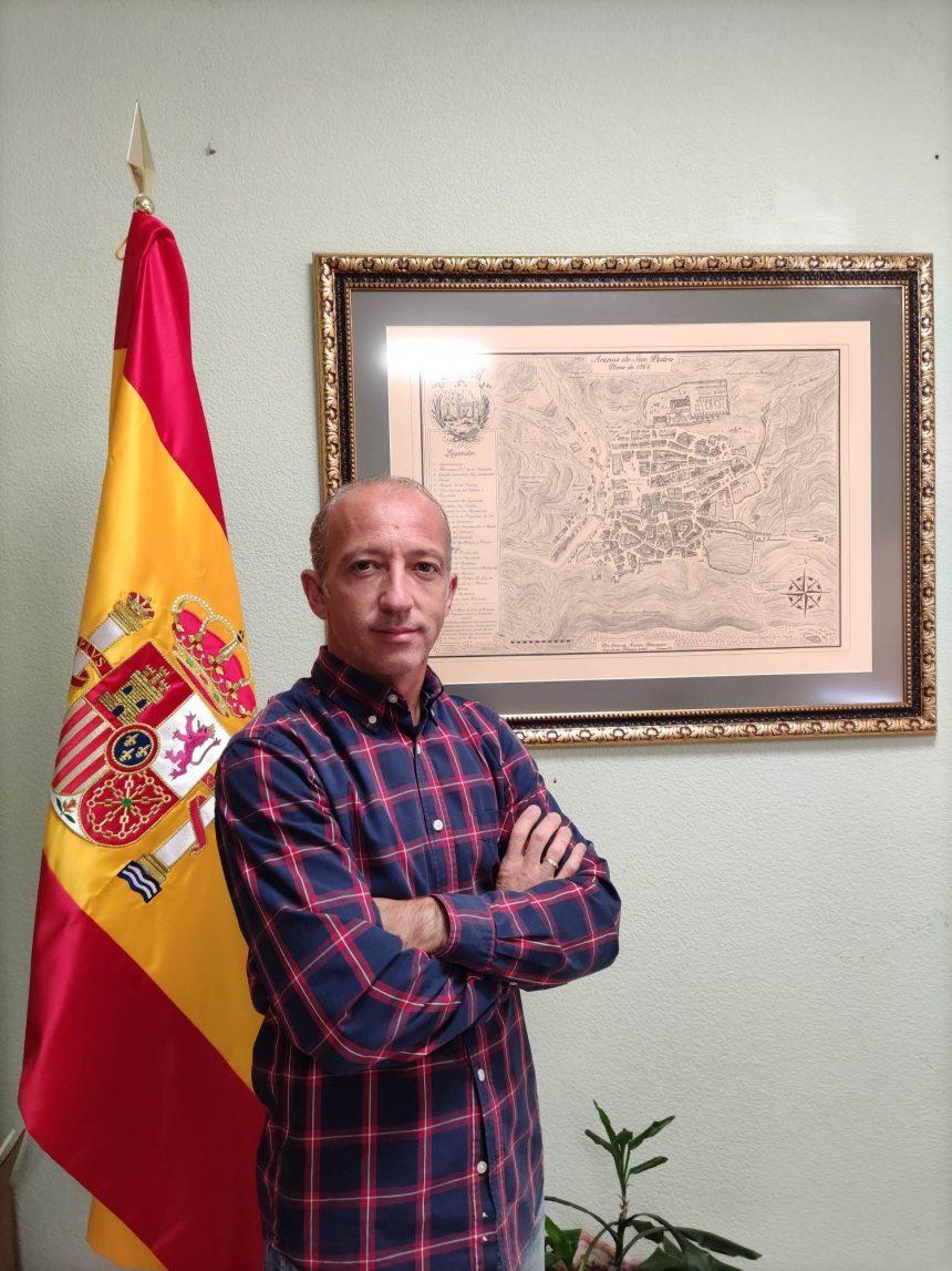 SALUDA DEL CONCEJAL DE FIESTAS DEL EXCMO. AYUNTAMIENTO DE ARENAS DE SAN PEDRO