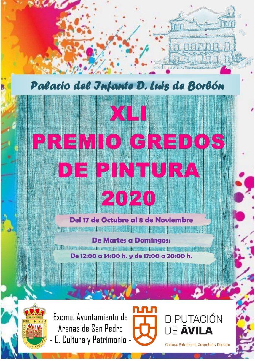XLI GALA DEL PREMIO GREDOS DE PINTURA  2020 ARENAS DE SAN PEDRO