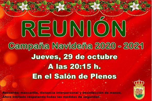 🎄 REUNIÓN CAMPAÑA NAVIDEÑA 2020-2021 🎄