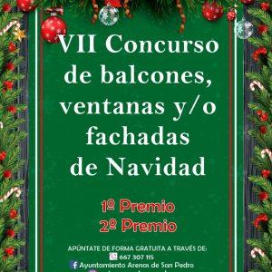 VII CONCURSO DE BALCONES, VENTANAS Y FACHADAS DE NAVIDAD 2020/21