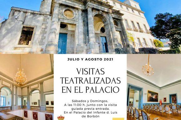 EL FANTASMA DE GOYA VUELVE AL PALACIO ARENENSE EN VISITAS TEATRALIZADAS
